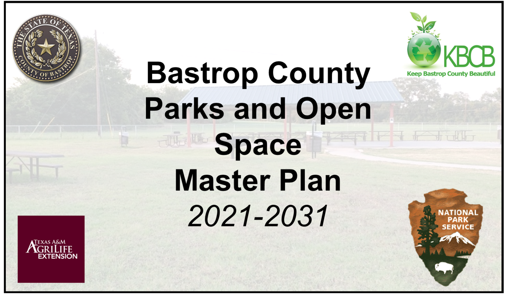 Bastrop County Parks and Open Space Master Plan